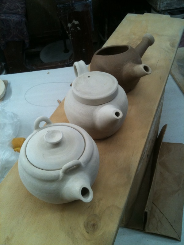 C# first 3 teapots
